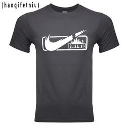 Fortnite 2018 marcas de moda hombres/mujeres camiseta Casual manga corta hombres camisetas de impresión camisetas hombre camisetas TShi