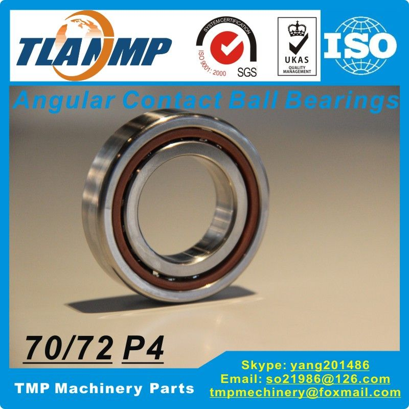 7004C / 7004AC DBP4 Angular Contact Ball Bearing (20x42x12mm)  TLANMP High rigidity Spindle bearings Made in China