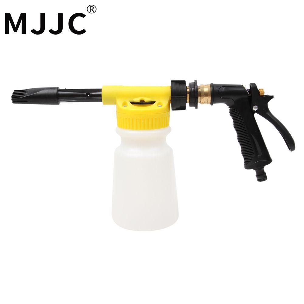 Mjjc бренд 2017 с высоким качеством foamaster II пена Вымойте пистолет, делая пены с только садовый шланг, нет необходимости власти или газа