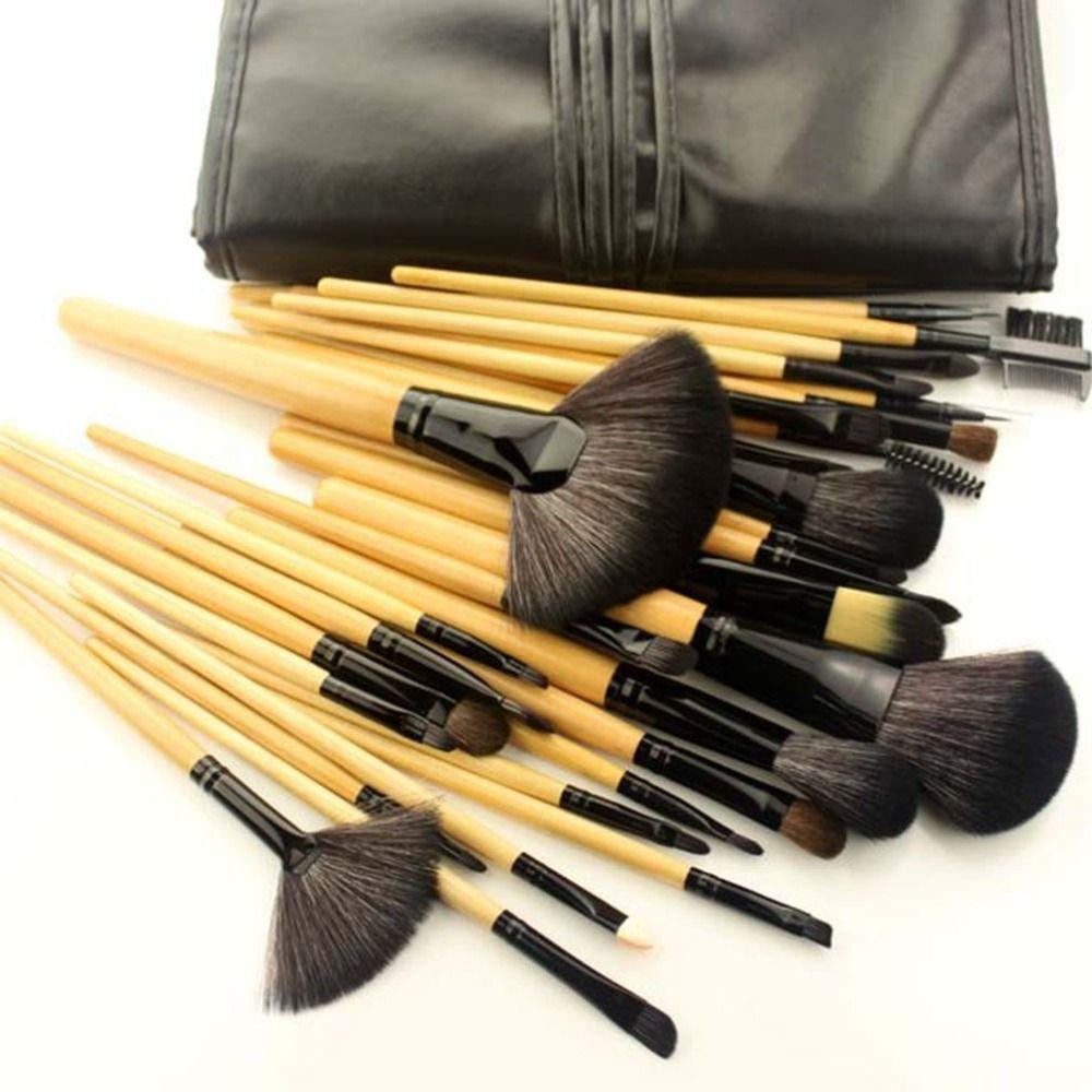 32 teile/satz Pro Make-Up Pinsel Set Kosmetik Pinsel Schönheit Werkzeuge Lidschatten Augenbraue Eyeliner Wimpern Lip Foundation Power pinsel