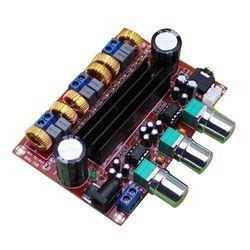 HFES New Amplifier Board TPA3116D2 50Wx2+100W 2.1 Channel Digital Subwoofer Power 12~24V