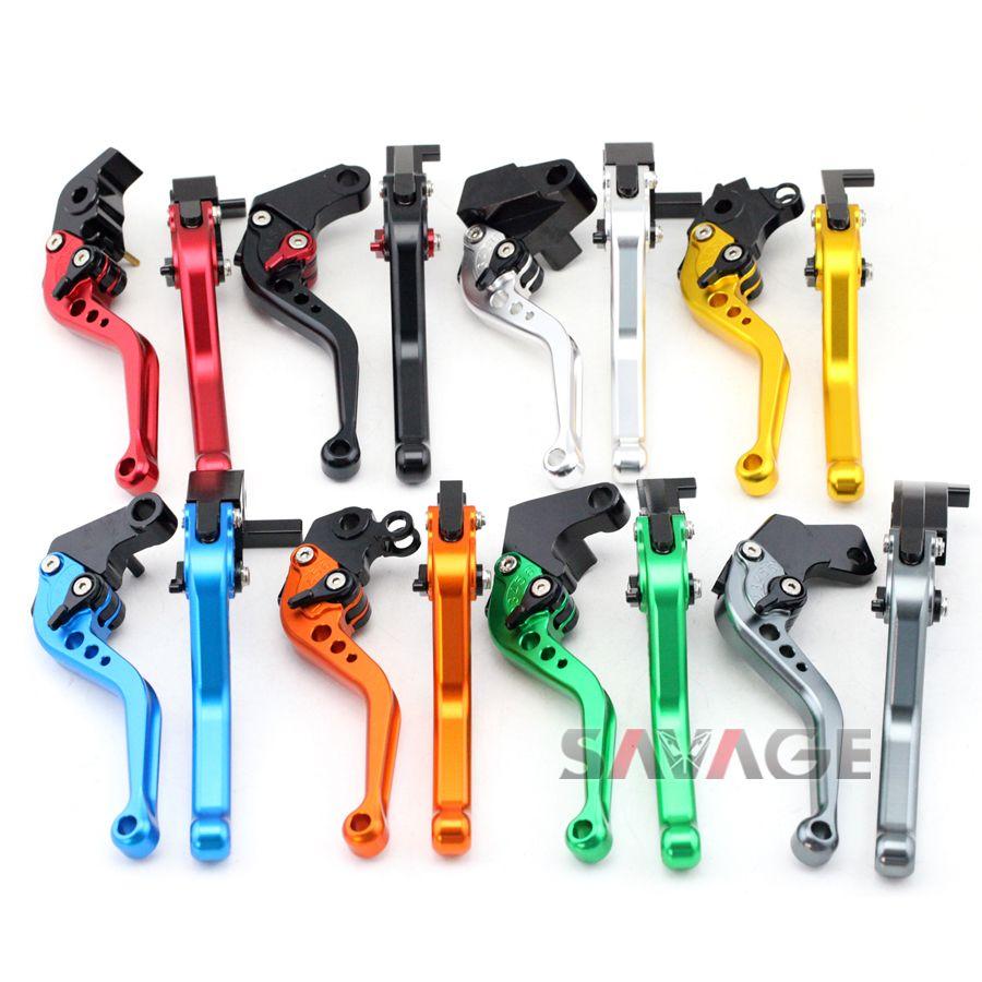 For HONDA CBF125 Stunner 2009-2014, CBR 125R CBR125R 2004-2010 Motorcycle Adjustable CNC Short Brake Clutch Levers 8 Colors
