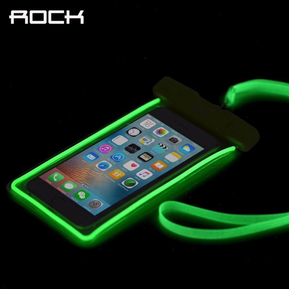Luminous Waterproof Bag Case for iPhone/Samsung/Xiaomi/Huawei/Meizu, Premium Universal Waterproof Bag Case under 6 inch Phones