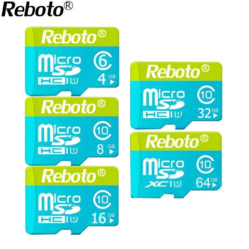 2018 Newest Microdrive Green and Blue Memory Card 4GB 8GB 16GB 32GB 64GB Micro SD Card memory stick Hot Sale TF Card