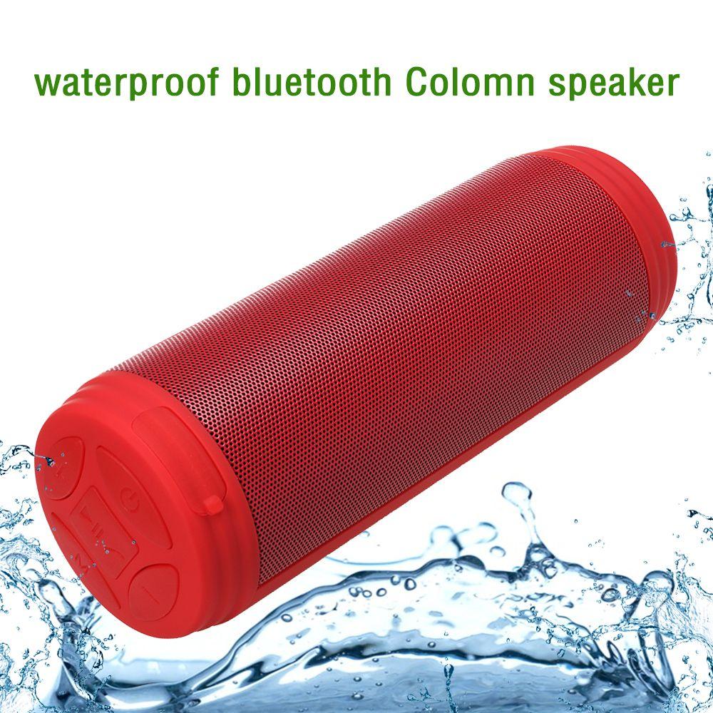 Zonyee Bluetooth Speakers Upgrated 10W Big Power Portable wireless altavoz Speaker FM Radio TF Outdoor Column Waterproof speaker