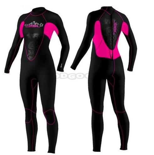 Slinx CORAL Women's Scuba Diving Surfing Snorkeling Fishing boating 3mm Neoprene swimwear Wetsuit Free Shipping