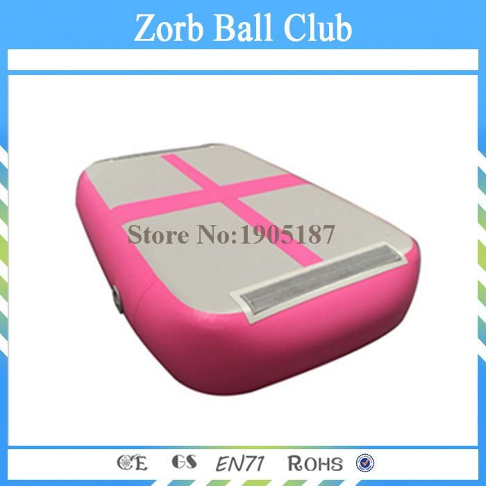 High Quality Double Wall Fabrice Made Inflatable Gym Air Track Air Block /Airblock For Gym Free Shipping