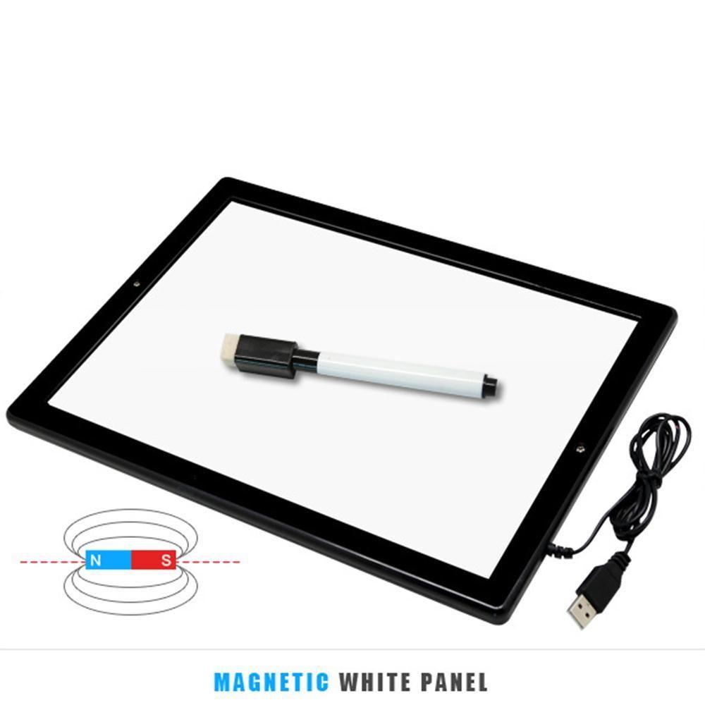 Cewaal LCD Großen Bildschirm Kinder tablette Zeichnung Pad Schreibtafel LED Light Painting Kinder Ultra Thin