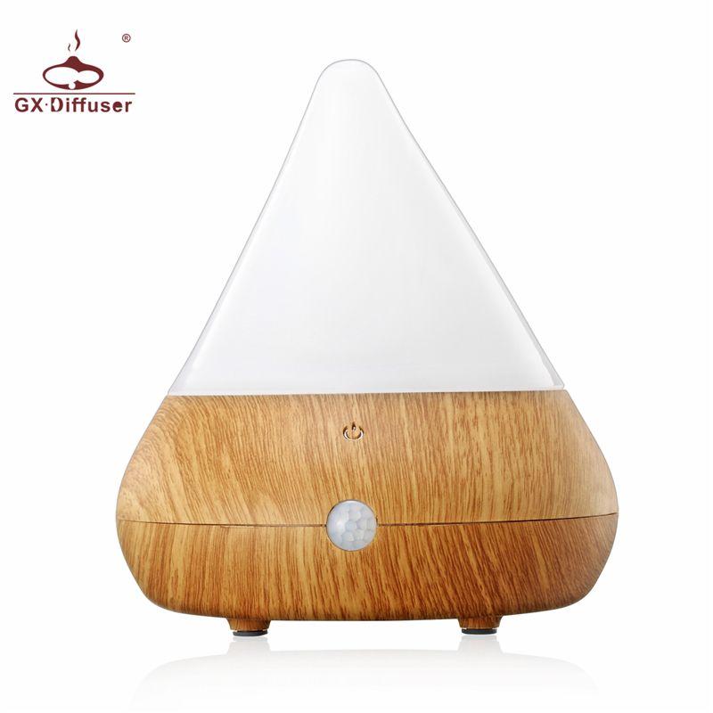 GX.Diffuser USB Aroma Diffuser Human Infrared Ultrasonic Humidifier Aromatherapy Essential Oil Aroma Diffuser Mist Maker Fogger