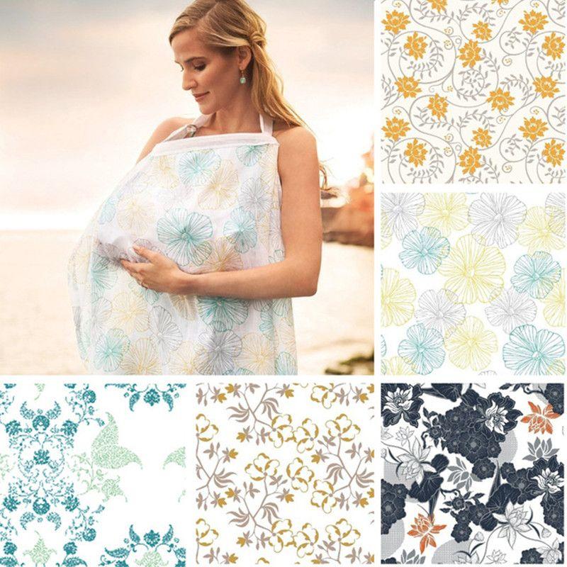 Couvre-pis allaitement couverture d'allaitement intimité bébé alimentation tablier coton infantile tissu respirant bébé moniteur décolleté couverture