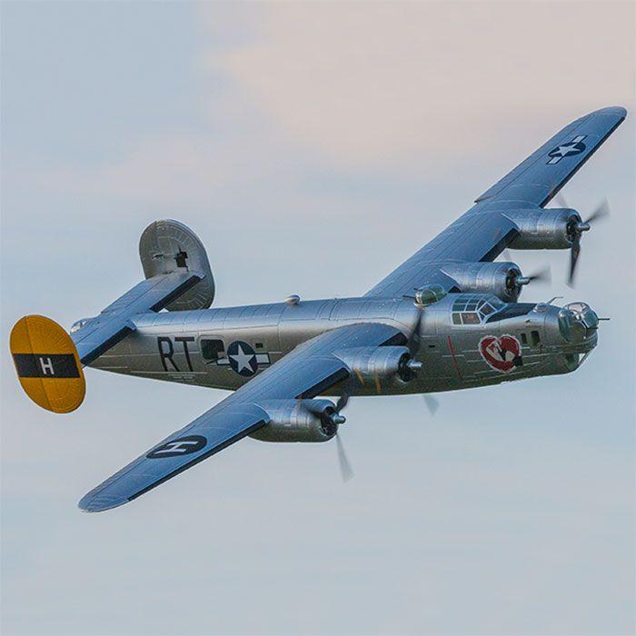RC Flugzeug modell Freewing Flightline 2000mm spannweite B24 B-24 Liberator PNP