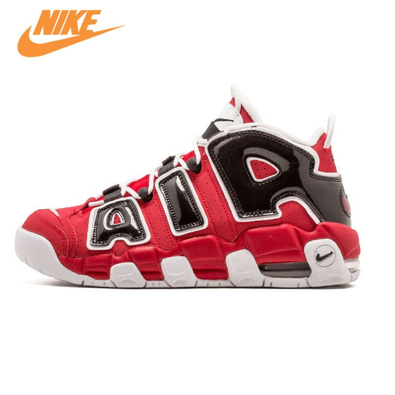New Arrival Official Nike Air More Uptempo Hoop Pack Breathable Women's Basketball Shoes Sports Sneakers Trainers