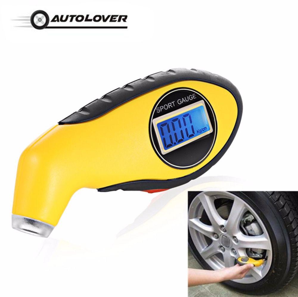 Auto Car Gauge Tester Diagnostic tool for Driving Safety tire pressure gauge Meter Manometer Barometers Tester Digital LCD Tyre