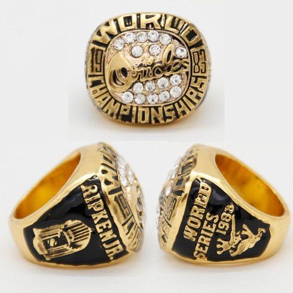 Réplique 1983 Baltimore Orioles Baseball Hommes Anneaux Championnat Anneaux