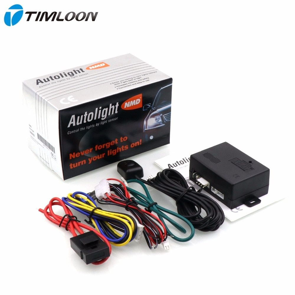 NMD DB600D Universal 12V Car AutoLight Sensor System Automatically Control The Lights ON and OFF by Light Sensor