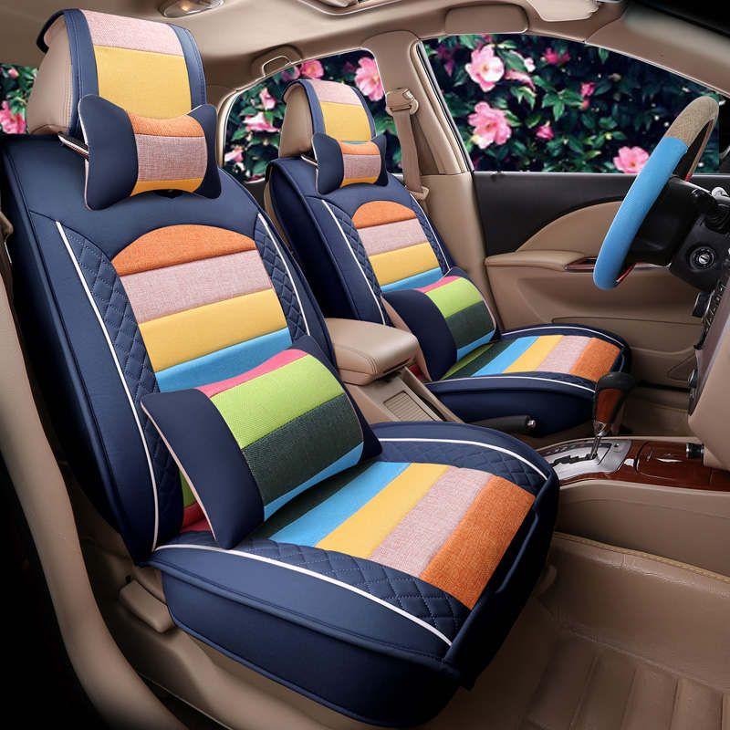Сиденья, универсальный сиденье Подушки, старший стекаются ткань, автомобиль колодки, спортивный автомобиль стиль, автомобиль-Стайлинг для ...