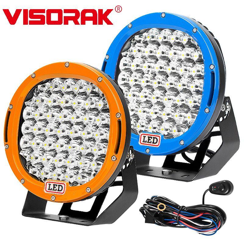 "VISORAK 9 ""225 W Offroad LED Work Licht 4x4 LED ATV LED Licht Für Jeep 4WD 4x4 Lkw Fahrzeuge SUV ATV Off-road"