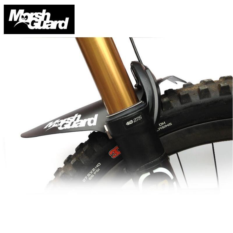 Garde-boue de bicyclette garde-boue vtt garde-boue ailes pour garde-boue avant de vélo facile à assembler garde-boue de vélo le plus léger