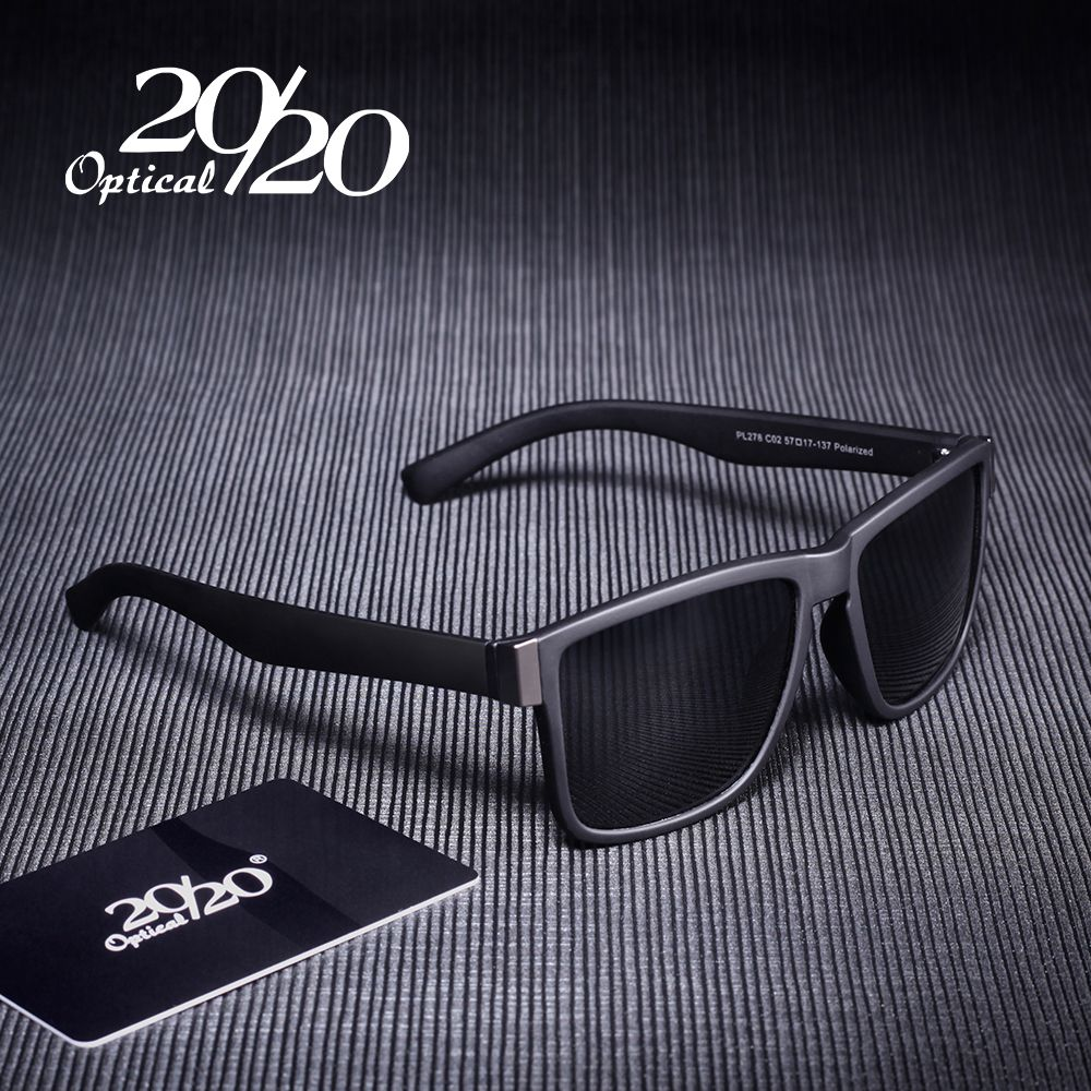 Classique lunettes de Soleil Polarisées Hommes Lunettes de Conduite Revêtement Noir Cadre De Pêche Conduite Lunettes Hommes Lunettes de Soleil Oculos PL278