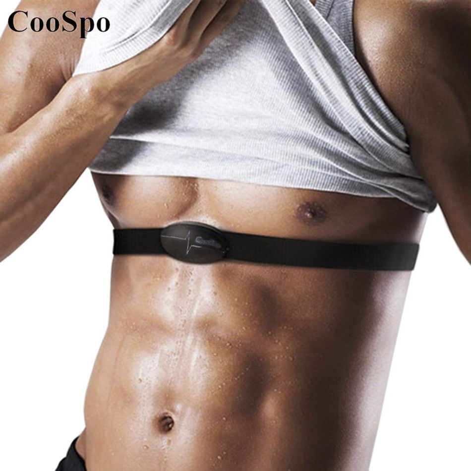 CooSpo H6 ANT Bluetooth V4.0 Wireless Sport Heart Rate Monitor Fitness Smart Sensor Chest Strap for Mobile Cell Phone