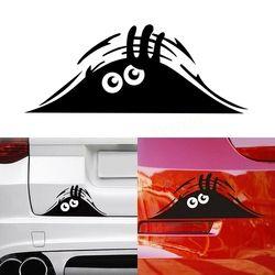 20*8 cm Funny peeking Monster Car Auto paredes Ventanas etiqueta engomada del coche del vinilo Etiquetas de coche Accesorios de estilismo