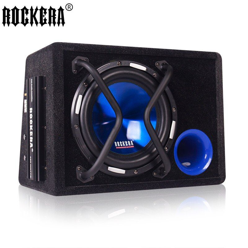 New Arrival 10 Inch Car Speaker 12V Big Power 500W Active Car Subwoofer With Amplifier Audio Car Speakers Car Sound
