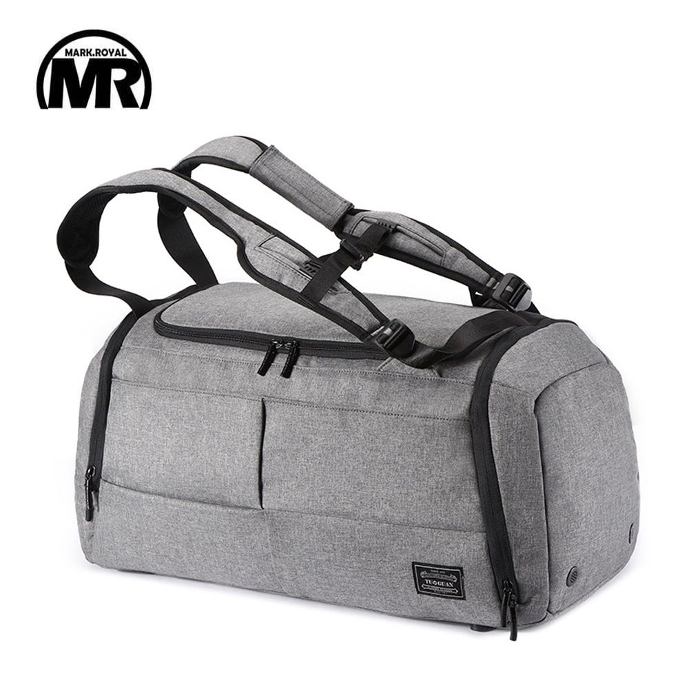 MARKROYAL Multifunctional Travel Bag Organizer Trolley Duffle bag Carry on luggage Weekend Bag For Men large <font><b>Capacity</b></font> Backpack