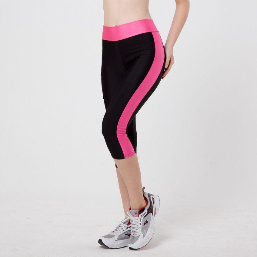 Leggings 2019 mode femmes Leggings sept Fitness poche latérale élastique pantalon Skinny pantalon Ropa Mujer Fitness Joggers Leggins