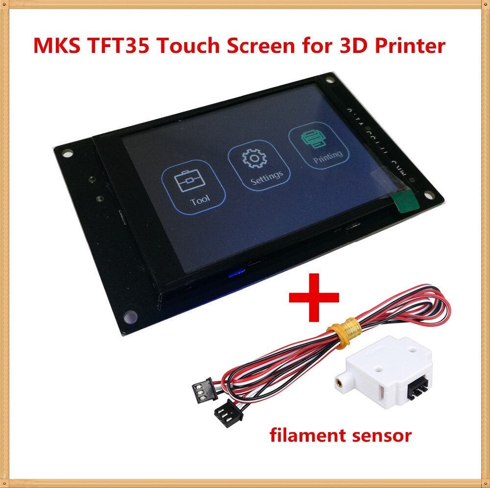 3d printer display MKS TFT 35 V1.0 touch screen 3.5 inches LCD panel TFT monitor full color creen displayer offline controllor