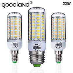 Goodland E27 LED Lampe 220 V SMD 5730 E14 LED Lumière 24 36 48 56 69 72 Led Maïs Ampoule Lustre Pour La Maison Éclairage LED ampoule