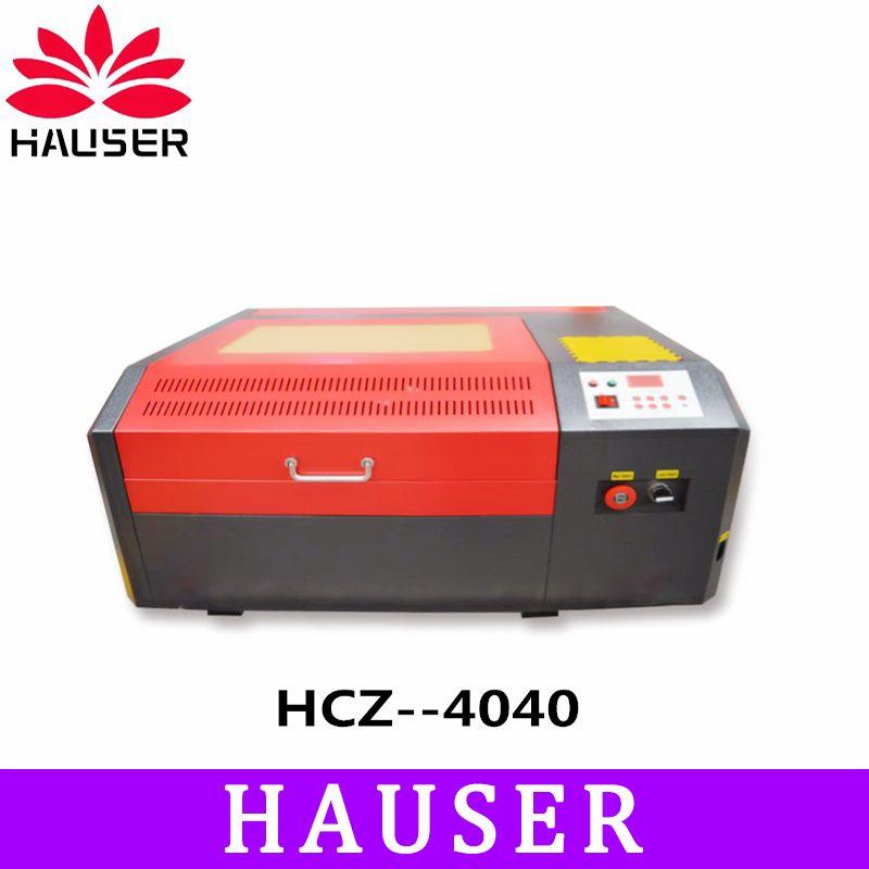 Freies Verschiffen HCZ co2 laser CNC 4040 laser gravur cutter maschine laser kennzeichnung maschine mini laser engraver cnc router diy