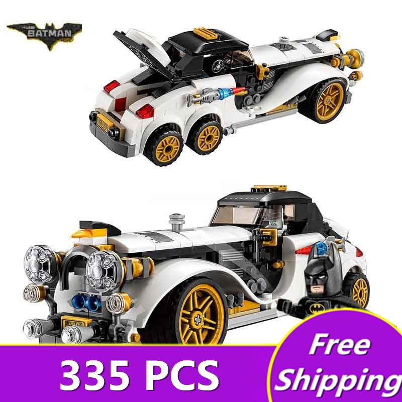 2017 New legone 07047 Batman Movie The Penguin Arctic Roller Penguin Man-Bat Building Block Toys Compatible Legoe Batman 70911