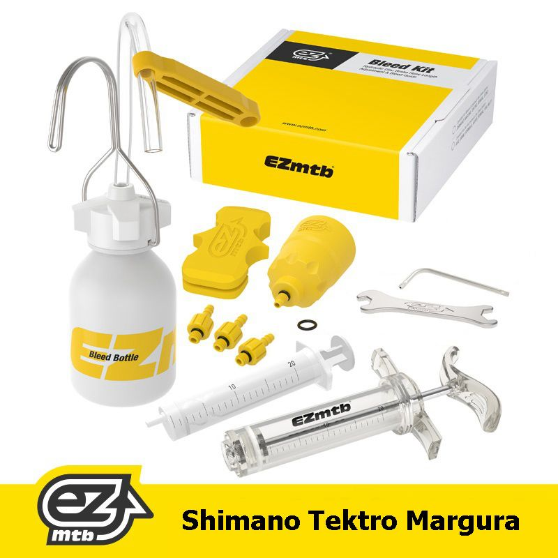 Bicycle Hydraulic Brake Bleed Tool Kit For <font><b>Shimano</b></font>, Tektro, Margura and Series Disc Brake System Use Mineral Oil Brake SW0018