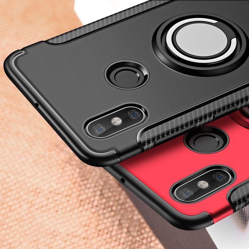 Finger Ring 360 Full Protect Case Xiaomi Redmi Note 5 Note 5A Redmi Note 5 Pro 5 Plus Armor Hybrid Cover Silicon Case Xiaomi Mi8