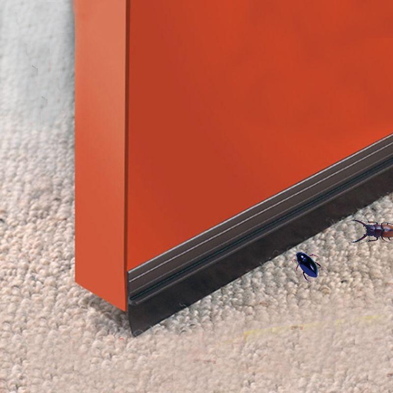 25mm largeur auto-adhésif silicone bar porte fenêtre fond bande d'étanchéité en caoutchouc bande weatherstriping isolation acoustique