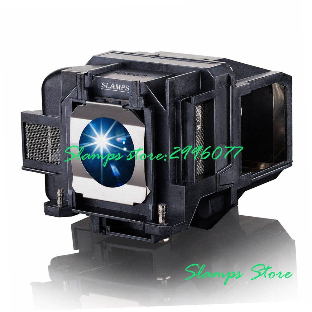 Lampe de projecteur de remplacement ELPLP78/V13H010L78 de haute qualité avec boîtier pour EPSON EB-945/X24/965/S17/S18/EH-TW410 EB-X200 H552B