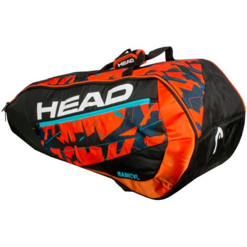 Erwachsene Kopf Murray Tennis Tasche Badminton Schläger Doppel Schulter Outdoor Sport Rucksack Mit Schuh Tasche Kann Halten 6-9 schläger