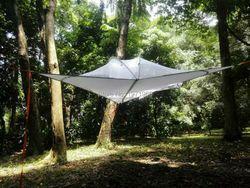 Gratis Pengiriman Tenda Outdoor Berkemah Tempat Tidur Gantung Kelambu Tempat Tidur Gantung Suspensi Tenda Kosong Pohon Gantung Berkemah Pohon Tenda