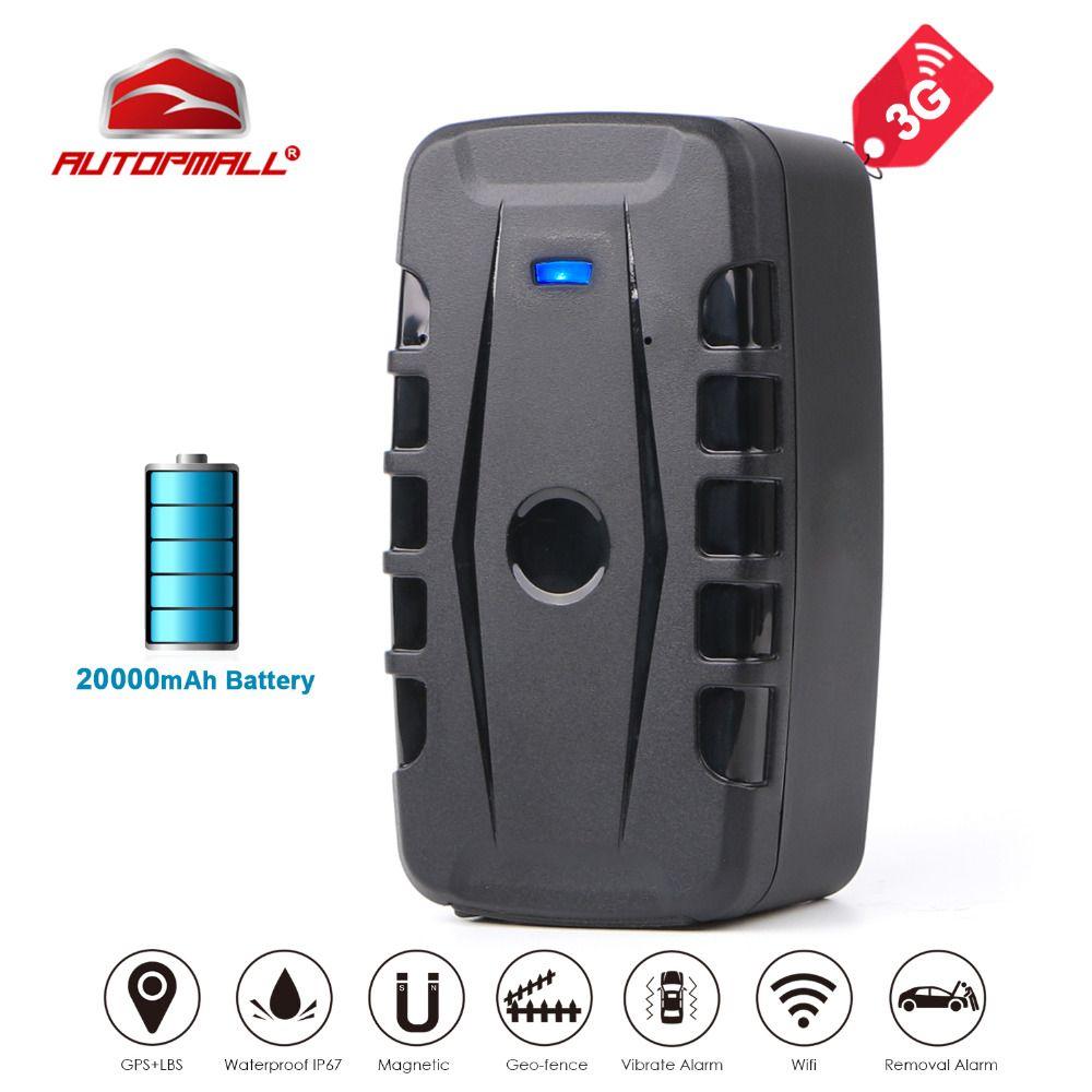3G GPS Tracker Car LK209C 20000mAh 240 Days Standby Magnets Vehicle Tracker GPS Locator Waterproof Shock Drop Alarm Free Web APP