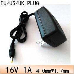 1 PCS 16V1A universel 4.0mm x 1.7mm AC 100 V-240 V Adaptateur Convertisseur DC 16 V 1A 1000mA Alimentation US EU UK au Plug DC 4.0mm * 1.7mm