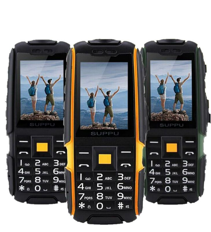 Original x6000 GSM Senior old man phone IP67 Waterproof Rugged Mobile phone 2 sim FM Power bank Russian Keyboard led flashlight