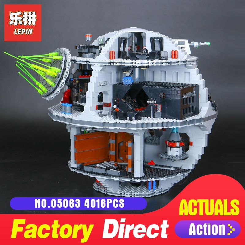 4016Pcs Lepin 05063 the Death UCS Star Building Block Bricks Toys Kits LegoINGlys 75159 for Children Holiday gifts Wars