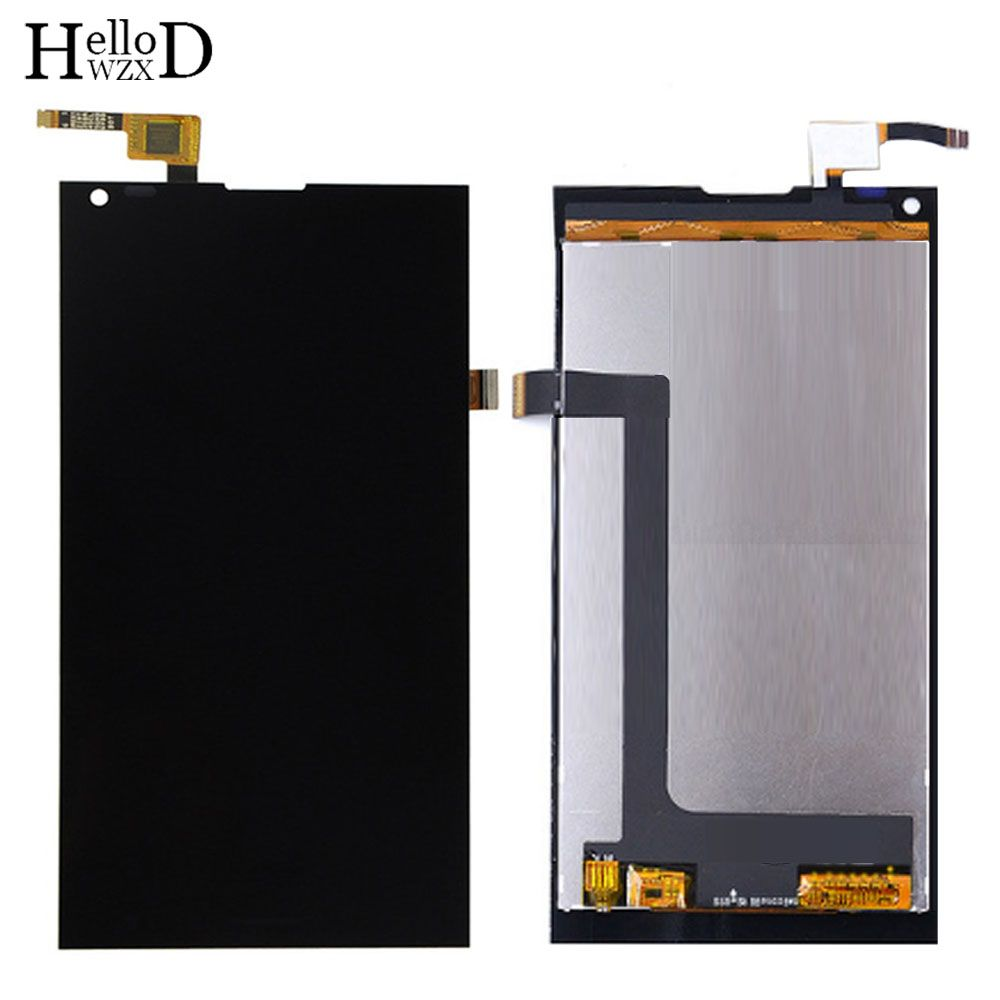 HelloWZXD 5.0'' Mobile Phone Front Touch Glass For BlackView Crown LCD Display Touch Screen Glass Digitizer Panel Sensor Tools