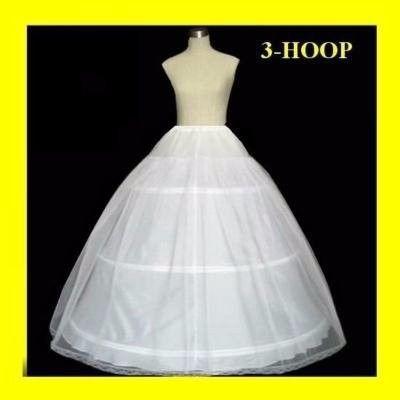 Barato 3 Aro Balón vestido Hueso Completo Jupon Crinolina Enaguas Para El Vestido De Novia Accesorios Para El Vestido De Quinceañera a La Venta