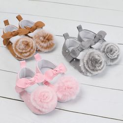 Chichimao Bayi Balita Sepatu Bayi Balita Garis Bunga Lembut Sole Anak Gadis Anak Laki-laki Bayi Sepatu Bayi Prewalker 0-18 bulan
