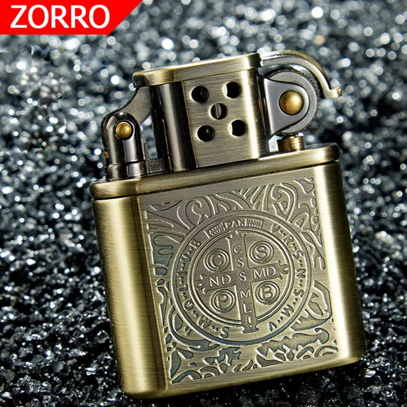 ZORRO Constantine Kerosene Lighters Gasoline Vintage Metal Lighter Retro Kerosene Cigarette Fire Lighter Smoker Best G