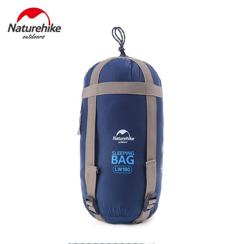 NatureHike 1900 x 750 mm autumn spring Outdoor Envelope Sleeping Bag Mini Ultralight Travel Bag Hiking Camping bag