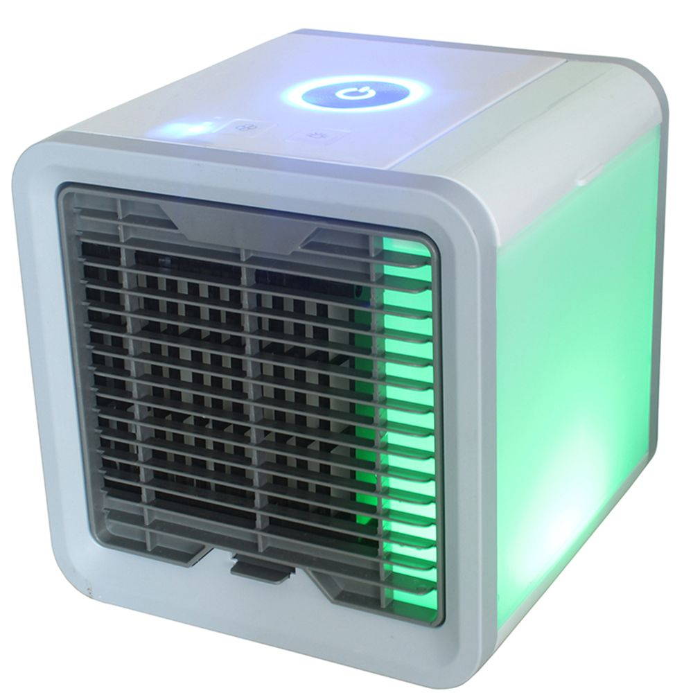 Air Cooler Fan Air Personal Space Cooler Portable Mini Air Conditioner Device cool soothing wind for Home room Office Desk