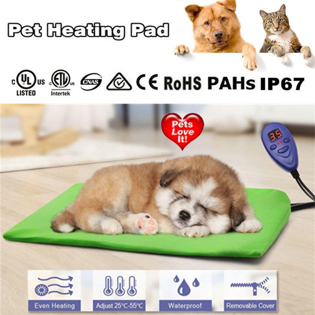 DC 12 V 15 W Heizung Pad Pet Hund Katze Wasserdichte Elektrische Pad Heizung Wärmer Matte Bett Decke Heizung Pad mit Stecker 40x30 cm