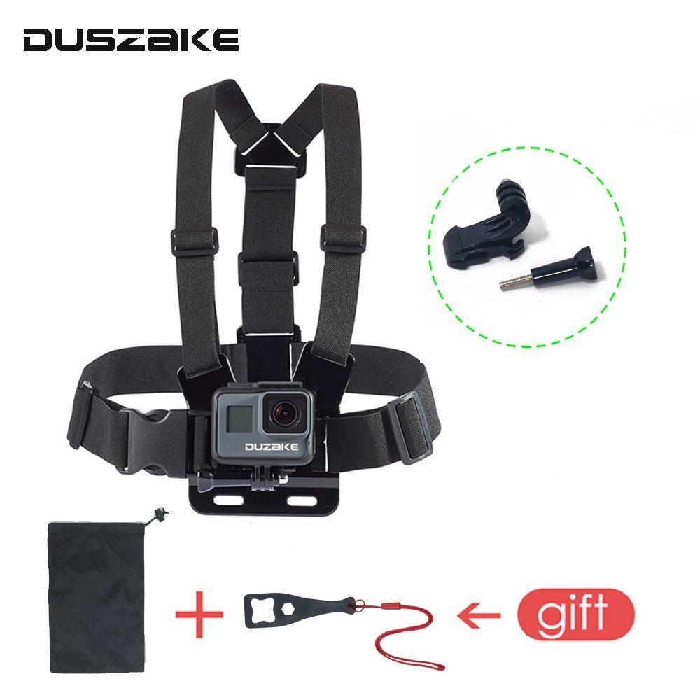 DUSZAKE DG08 ceinture de poitrine pour Gopro Hero 5 accessoires sangle pour Gopro Mount pour Gopro Hero 5 accessoire pour Yi 4 K Eken H9 SJCAM